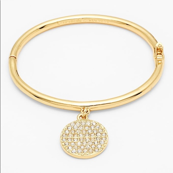 a74ad52222589 Kate spade all that glitter gold bracelet